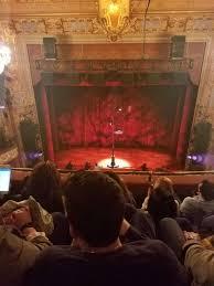 Longacre Theatre Section Balcony C Row D