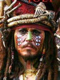 jack sparrow costume tutorial cannibal jack make up