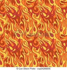 Flame Pattern Awesome Fire Flame Seamless Patternmodel For Design Of Gift Packs Patterns