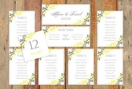 Wedding Seating Chart Wording Wedding Seating Chart Template Download Instantly