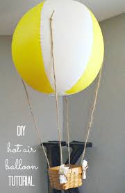 uncategorized how to make a hot air balloon centerpiece diy decorative hot air balloons for 5