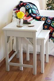 Ana White Preston Nesting Side Tables Diy Projects White Side Tables For Living Room