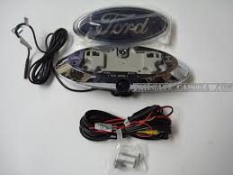 ford f series truck emblem camera hd tailgate camera com Ford F-150 Wiring Diagram at 2012 F250 Factory Camera Wiring Diagram
