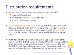 School Report Card Format 2013 Report Cards How To Prepare And Distribute 2013 District And