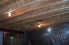 exposed ceiling lighting basement industrial black. unfinished ibeam ceiling joists exposed lighting basement industrial black n