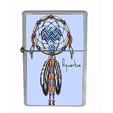 Zodiac Dream Catcher Custom Amazon Aquarius Zodiac Dreamcatcher Wind Proof Dual Torch