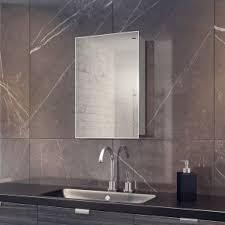 Bathroom mirror cabinets with lights Traditional Illuminated Bathroom Alban Cabinet Mirror Houzz Led Bathroom Mirror Cabinets Builtin Shaver Socket Demister Pad