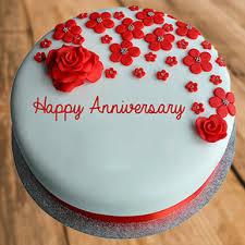 Gorgeous Anniversary Fondant Cake Winni