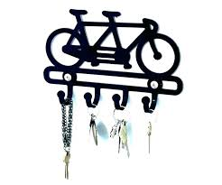 decorative key holder for wall decorative key holder for wall hook rack hooks tandem bicycle cab decorative key holder for wall
