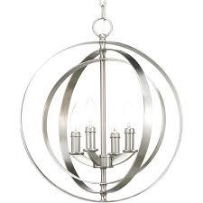 cage style chandelier progress lighting equinox 16 in brushed nickel multi light cage pendant birdcage style lighting birdcage style chandeliers