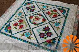 Piece N Quilt: Embroidery Applique Quilt & Embroidery Applique Quilt Adamdwight.com