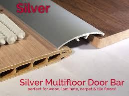 dural multifloor door bar threshold strip cover plate laminate floor 0 9m silver