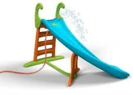 curved slide feber curved water slide