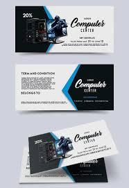 Computer Center Gift Certificate Template