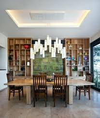 Excellent Contemporary Dining Room Lighting Living brushandpalette