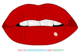 red lip clipart clipart best