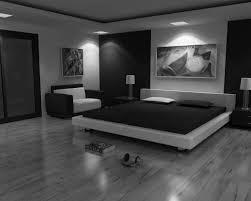 Modern Black Bedroom Sets Large Modern Bedroom Design With Dark Gray Wall Interior Color