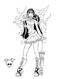 Small Picture Coloring Pages Monster High Mattel Coloring Pages There Are Many