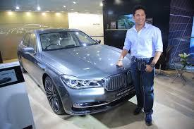 new car launches bmwMade in India Sachin Tendulkar launches BMW 7 series X1  Rediffcom