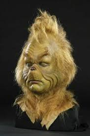 how much did the grinch makeup face cast auctioned for at herie auction gallorie s