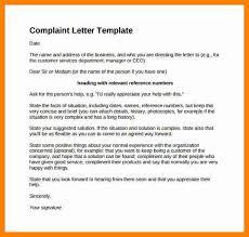 complaint letter sample employee complaint complaint letters in 10 complaints letter format cover title page