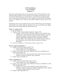 Course Outline Semester 1 Mrs Aratas History Page