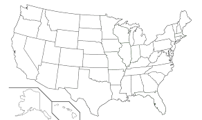 Small Picture US States Map Quiz States And Capitals Game Calendar Template 50
