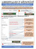 Registrace starších 16 let věku k očkování; Navod Na Registraci Senioru Do Centralniho Rezervacniho Systemu Ockovani Proti Covid 19 Mesto Bilina