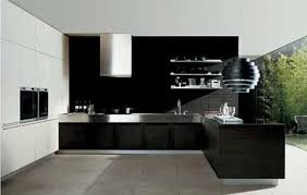 modern black kitchen cabinets. Cool Paint Kitchen Cabinets With Modular Images Modern Black