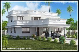 Flat roof home design -2991 Sq.Ft. (Plan 137)