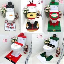 santa toilet seat covers toilet seat cover rug set toilet lid cover mats 1 set bathroom mat set bathroom decoration crochet santa toilet seat cover free