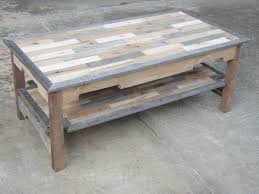 image of wood pallet coffee table