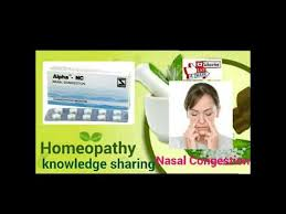 Homeopathic medicine for allergy rhinitis sinusitis and nasal ...
