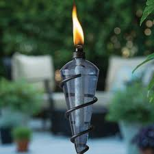 another affordable tiki torch and has great reviews is the island king garden torch these would give your space a nice festive tropical tiki feel