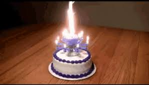 Happy Birthday Cake Gif Happybirthday Cake Candles Discover