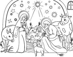 nativity coloring sheet free coloring pages at coloringcafe com