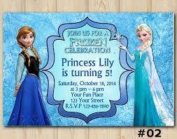 Frozen Birthday Invitations Frozen Invitation Disney Frozen Birthday Invitation Frozen Birthday Party Disney Elsa Anna Custom Invite 002 Sold By Diy Party Printables
