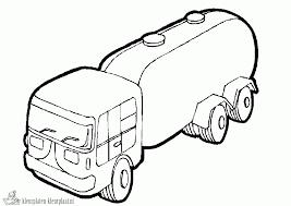 Kleurplaten Vrachtauto Kleurplaten Kleurplaatnl