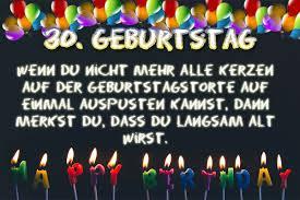 30 Geburtstag Glückwünsche Bilder Und Sprüche Kostenlos