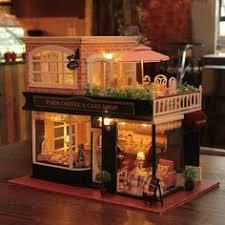 aliexpresscom buy 112 diy miniature doll house. Rylai Wooden Handmade Dollhouse Miniature DIY Kit - Romantic Cafe Series  Dollhouses \u0026 Furniture/ Aliexpresscom Buy 112 Diy Miniature Doll House O