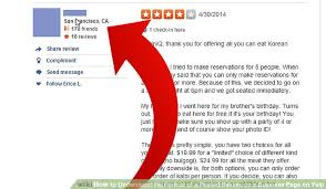 yelp review template. Contemporary Template Image Titled Understand The Format Of A Posted Review On Business Page  Yelp Step Throughout Template