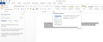 How Do I Do A Hanging Indent In Word If I Cant Get My Mouse To