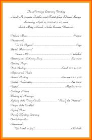 Wedding Reception Program Templates Christian Wedding Program Template Wedding Program Booklet