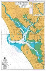 Nz 4265 Hydrographic Marine Chart Kaipara Harbour Smart