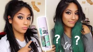 does loreal colorista spray work on dark hair