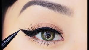 eyeliner makeup tutorial for beginners how to apply liquid eyeliner in 4 easy steps