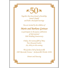 details about 25 personalized 50th wedding anniversary party invitations ap 009