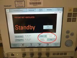 Setting Up The Ventilator Paediatric Emergencies