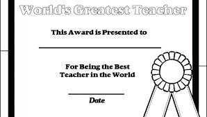 X Printable Certificates Teachers Appreciation For Best Teacher