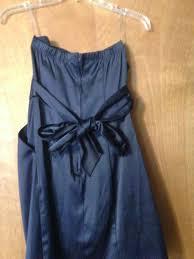 Trixxi Midnight Blue Navy Satin Pocket Above Knee Cocktail Dress Size 2 Xs 57 Off Retail
